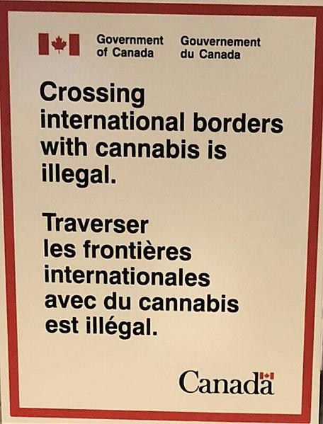canada cbd border marijuana