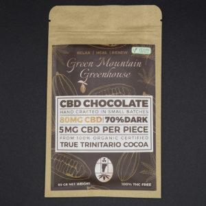 Green Mountain Greenhouse CBD Chocoloate